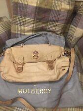 Mulberry Tillie Satchel Bag Alexa Peach Colour 100% Genuine Rare Limited Edition
