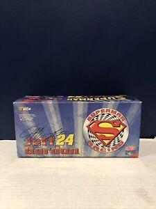 Action SUPERMAN Jeff Gordon #24 NASCAR Limited Edition Diecast 1:24 Scale