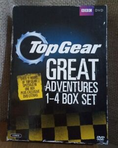 Top Gear - The Great Adventures 1-4 [DVD] [2011] - DVD  UIVG The Cheap Fast Free