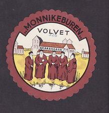 Ancienne  étiquette  fromage  Hollande  BN19669 Volvet Moines