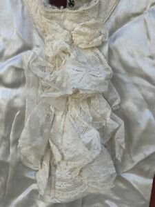 vintage mens tuxedo shirt ruffles lace dickie vest dicki dicky silky satin glam