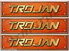 3 Trojan Boat Interior Remastered Stickers-Generic