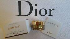 Dior L'Or de Vie Yeux Eye Creme Cream 3ml NIB The most Luxuary Dior Skin Care