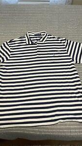 Polo Ralph Lauren Short Sleeve Polo Shirt, Striped,  2XLT Big Tall