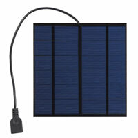 6/9/12V 3W Monocrystalline Silicon High Efficiency Solar Power Cell Panel Well