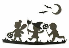 NEW Sizzix Halloween Silhouettes Die Set - Sizzix Thinlits Dies