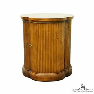 """HENREDON Italian Neoclassical Tuscan Style 20"""" Accent Storage End Table 3400-43"""