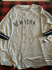 New York Yankees Big & Tall Road Jersey
