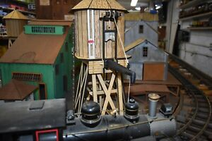 """G-SCALE 6""""  did LASER CUT WATER  TOWER KIT PUZZLE"""