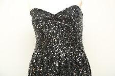 Bardot Silver Sequin Bubble Dress Size 12 New  tag price $119