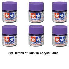 Tamiya 81516 Acrylic Mini X16 Purple 10 ml Bottle Acrylic Modelling Paint