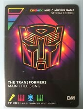 DropMix - Transformers Card  [Will ship International]