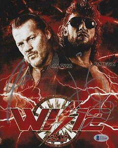 Kenny Omega Chris Jericho Signed WWE 8x10 Photo BAS COA New Japan Pro Wrestling