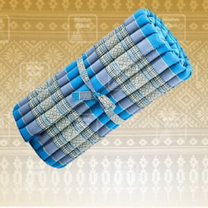 THAI TRADITIONAL ROLL UP WAVE MATTRESSES SPA Cushion Flooring kapok 100% Home
