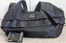 New Six Pack Fitness Asana Travel Meal Prep Black Taffeta Nylon Tote Bag Fit
