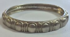 Beautifully Designed Bangle Bracelet Signed By Mignon Faget Sterling Silver