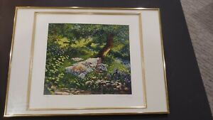"""SUSAN RIOS """"First Love""""  signed numbered Setigraph from the 1987 Romance Suite"""
