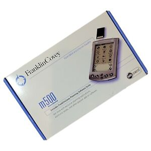 Palm Pilot m500 Gray Handheld PDA Pocket PC Digital Organizer open box was $399