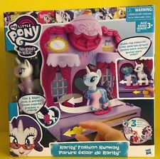 My Little Pony Rarity Fashion Runway Clip & Style Friendship Is Magic Playset