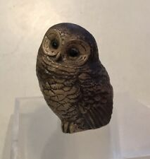 Super mint Condition Vintage Hand Painted/crafted Little/tawny Owl Fledgling