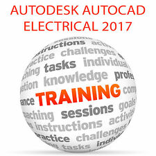 Autodesk AutoCAD ELECTRICAL 2017-Video formazione tutorial DVD