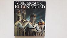 VOIR MOSCOU ET LENINGRAD GEORGES BORTOLI + PARIS POSTER GUIDE