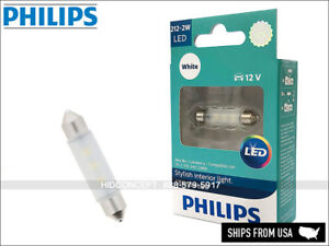 212-2W Philips ULTINON WHITE LED Bulbs 212-2ULWX1 Festoon 43mm (Pack of 1)