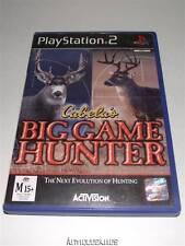 Cabela's Big Game Hunter PS2 PAL Preloved *Complete*