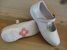 Naturino 4879 Mädchen Ballerina Gr. 31 beige creme schlicht schick Blume pink