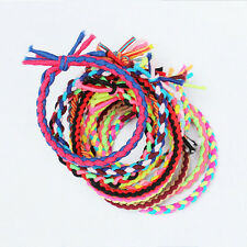 10 Stk Mädchen elastisch Seil Pferdeschwanz Halterung Haarband Ring Krawatten