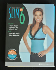 Debbie Siebers' Slim in 6 Set w/3 DVD's/Bookets/Tape Measure/Bonus Disc & Case