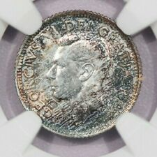 1951 Canada Canadian dime 10c NGC MS65 beautiful color!