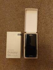 Samsung Galaxy S6 Edge 64GB - Black Sapphire boxed - small cracks still working