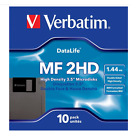 "New Verbatim DataLife Floppy Disks  3.5"" 1.44MB IBM Formatted DS/HD MF-2HD"