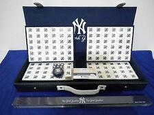 MLB New York Yankees Mahjong Set NEW with case