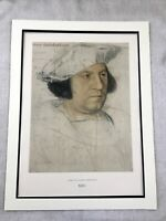 1911 Antique Print Hans Holbein the Younger Portrait Sir Henry Guildford RARE