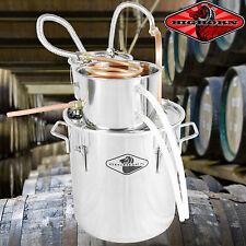 NEW 5 Gal Water Wine Alcohol Distiller Moonshine Still Boiler Stainless Copper [