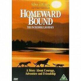 Homeward Bound The Incredible Journey DVD