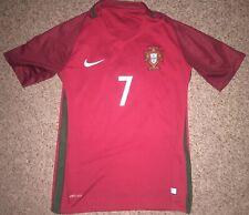 2016 Nike Authentic Dri Fit Portugal Christiano Ronaldo Football Jersey Small