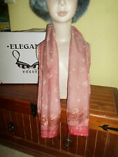 1 NEW Colourful Mixed Fibre Soft Scarf WARM AUTUMN COLOURS Gift Idea #87