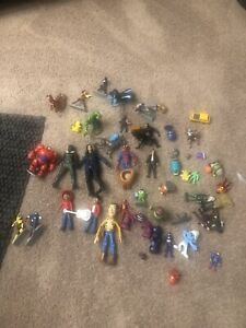 Large Random used action figure lot.
