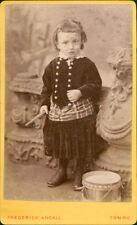 Truro. Girl Drum  by Frederick Argall, lace collar, buttons     Ri.59