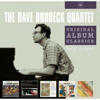 DAVE BRUBECK - ORIGINAL ALBUM CLASSICS (TIME OUT,TIME IN U.A. ) 5 CD  JAZZ NEU