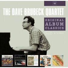 DAVE BRUBECK - ORIGINAL ALBUM CLASSICS (TIME OUT,TIME IN U.A. ) 5 CD  JAZZ NEU