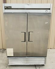 """True T-49F-Hc 54"""" Two Section Reach-In Freezer, (2) Solid Doors, 115v"""