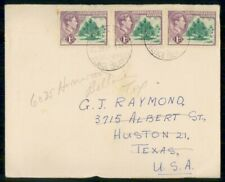 Mayfairstamps Gilbert & Ellice Islands 1950s to Houston TX cover wwf97967