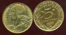 5 centimes  MARIANNE  1996 col 3 plies