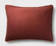 One Casaluna Heavyweight Linen Blend King Pillow Sham Dark Clay (I Have 2 Availa