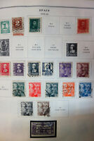 Spain Valuable 1900s to 2001 Stamp Variety Collection