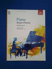 ABRSM Grade 5 Piano Exam Music Book 2013 & 2014